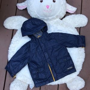 BOGO Navy Blue Rain Coat
